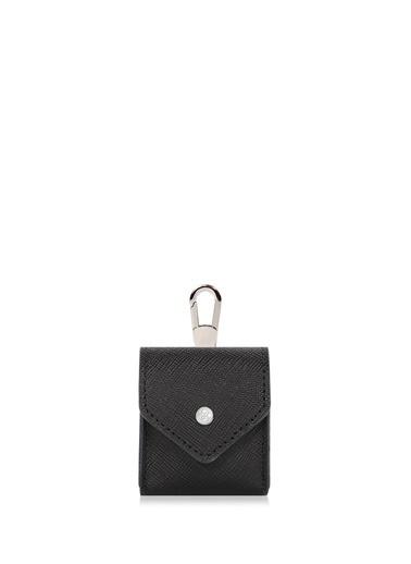 Cengiz Pakel Hakiki Deri Apple Airpods Kulaklik Kilifi 2463-Siyah Siyah